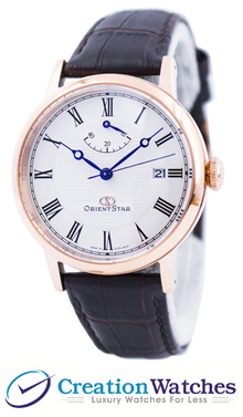[CreationWatches] Orient Star Elegant Classic Automatic Power Reserve SEL09001W EL09001W Mens Watch