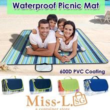 600D PVC Coating waterproof picnic mat/floor mat/mat/table mat