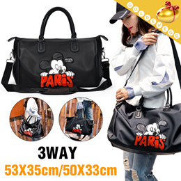 Free Shipping♥ 2Type Mickey Travel 2way Bags ♥ Tote Bags   Shoulder Bags   4d0f67638c693