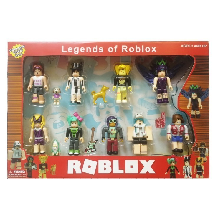 store New Roblox Game Characters Figurines 7-8cm #3753 Action Figures PVC  Doll Collection Model Toys