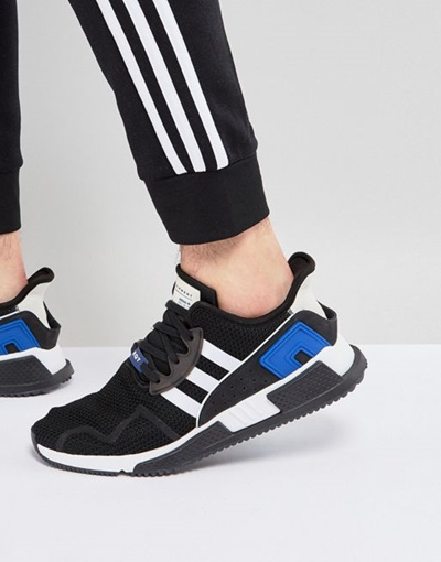 info for 4e03f 02f85 adidas Originals EQT Cushion ADV Sneakers In Black CQ 2374