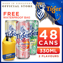 Tiger Beer Radler x 48 Cans. Pomelo(New!)/Lemon/Grapefruit. Can Apply $12 Discount!