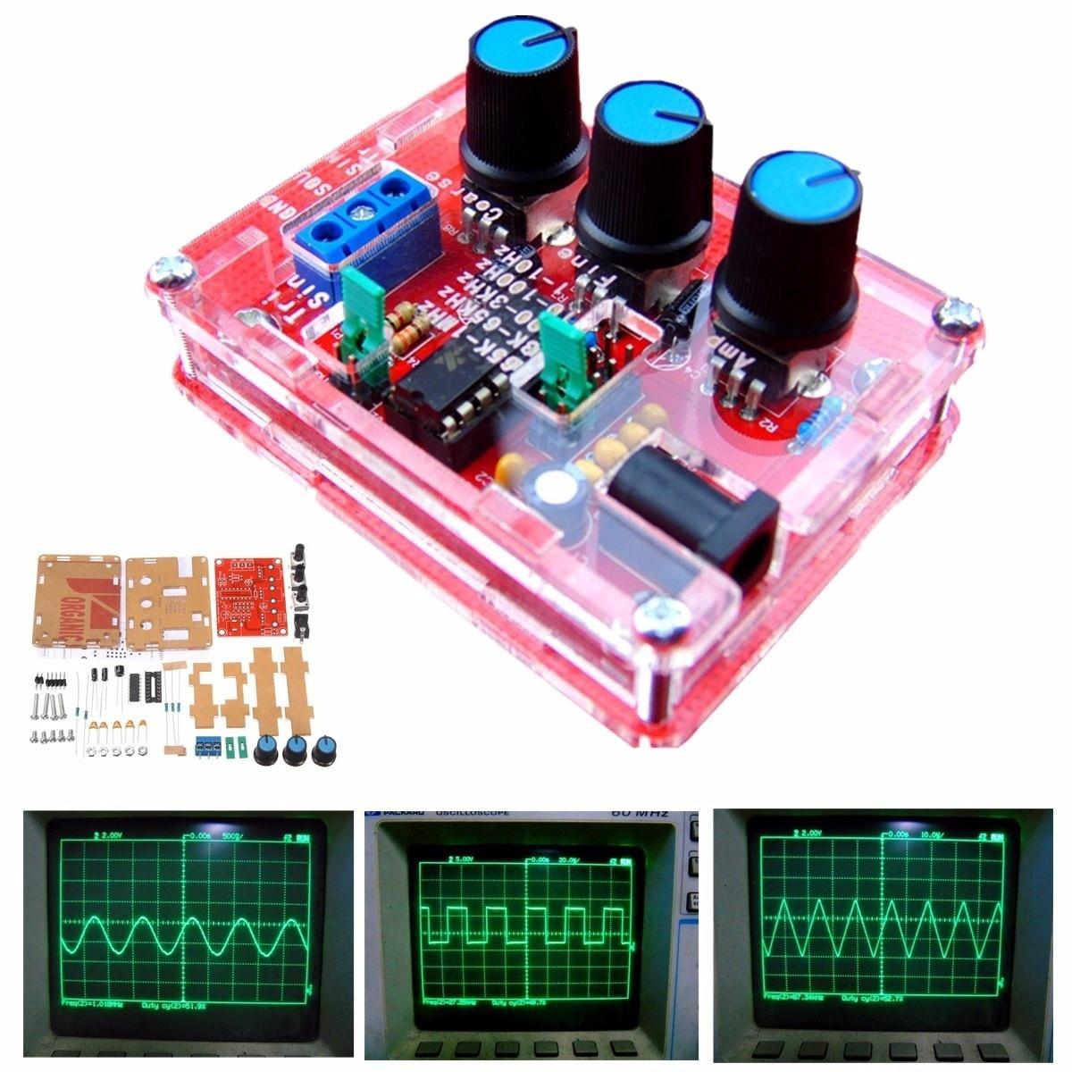 Qoo10 Xr2206 Function Signal Generator Diy Kit Sine Triangle Squarewave Circuit Show All Item Images