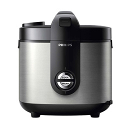 Philips HD 3128 Stainless Steel Rice Cooker [2 L]