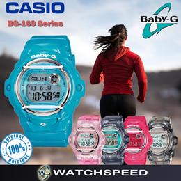Casio Baby-G BG-169R Series Alarm Ladies Sport Watch