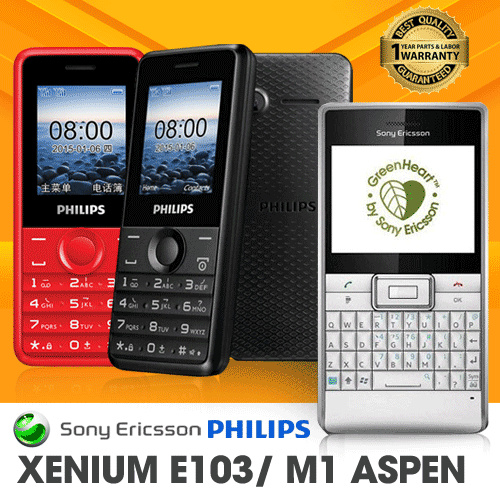 Philips Xenium E103 Deals for only Rp148.500 instead of Rp148.500