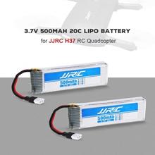 JJRC 3.7V 500mAh 20C LiPo Battery for JJRC H37 RC Drone