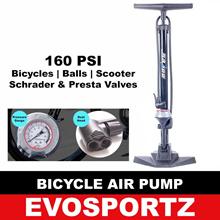 Bicycle Air Pump / Bicycle Hand Pump / Bicycle Large Pump with Pressure Gauge