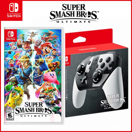 ◆Pro Controller for Super Smash Bros Ultimate Nintendo Switch Console