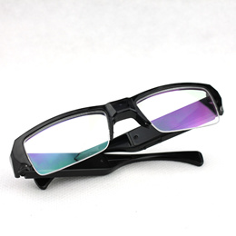 Gold Glasses A300 1080P Super Mini DVR Slim Glasses HD Camera Eyewear Spy Hidden Camera