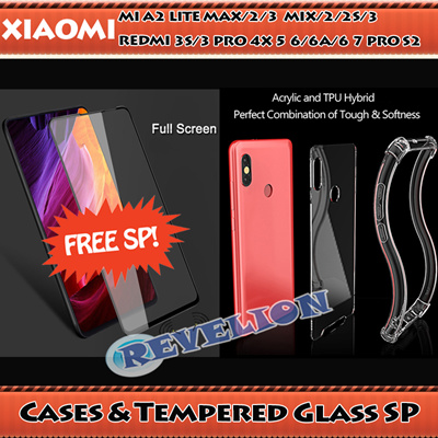 ☆FREE SCREEN PROTECTOR☆Xiaomi Max 2 3 Mix 2 2S 3 Redmi 3s 4x 5 Plus 6 6A 6 Pro 7 S2 A2 Lite Case SG: 999+ sold: Rating: 5: Free: S$39.90 S$7.95