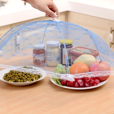 Qoo10 Gauze Umbrella Food Cover Picnic Kitchen Anti Fly Mosquito