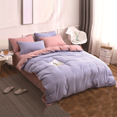 4 IN 1 Bedsheet for new Design / QUILT COVER /  FITTED  Sheet /  Soft and Comfortable