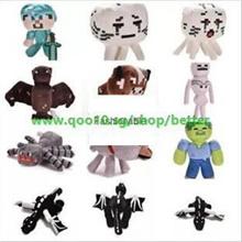 Minecraft Toy Classic Sandbox Games Plush Toy Doll for Kids Birthday Gift / Soft Plush Toy for Minec