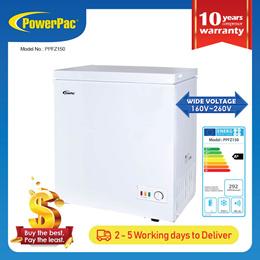PowerPac 150L Chest Freezer CFC Free (PPFZ150)