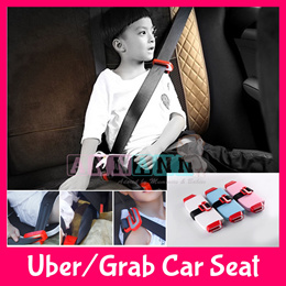 ★Use Qoo10 Coupons★Compact Travel Foldable Child Kids Safety Booster Seat★Uber Grab Taxi