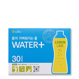[OSULLOC][Water+ LEMON LIME (2.6g x 30 pcs)]  Diet Tea after Meal / Chirstmas