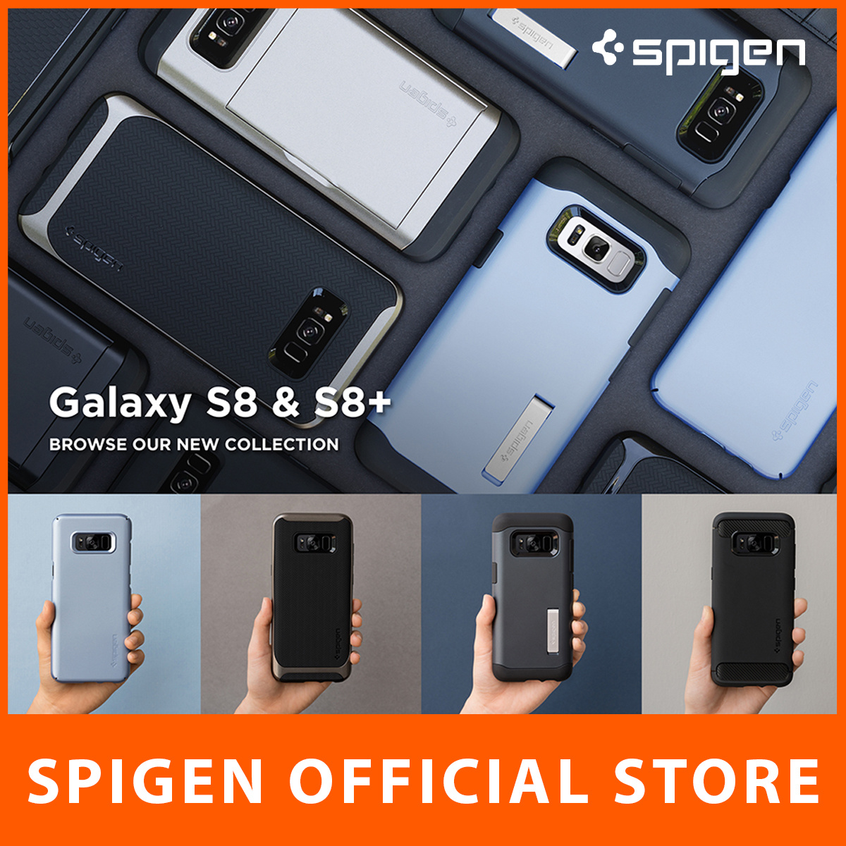 Qoo10 Spigen S8 Plus Mobile Accessories Galaxy Note 9 Case Slim Armor Crystal Original Clear Show All Item Images