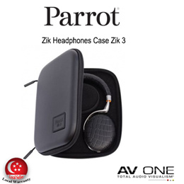 [PARROT] Zik Headphones Case Zik 2.0  / Black Color / 1 Year Local warranty from Authorized Distributor / Official Product