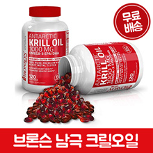 [Bronson] Antarctic Krill Oil 60 / 120softgels