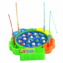 Baby Educational Toys Fish musical Magnetic Fishing Toy Set Fish Game Educational Fishing Toy Child