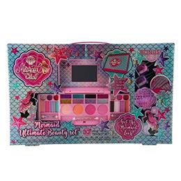Mermaid Club- Kids Makeup Kit - Designer Girls Makeup Palette for Kids - Packed In a Cute Colorful V