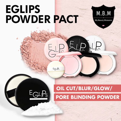 Eglips Blur Powder Pact?Oil Cut?Glow Pact?Pore Blind Powder?Sebum Control?Matte Look Deals for only S$10 instead of S$0