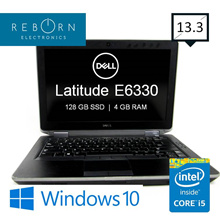 [Refurb] Dell Latitude E6330/ IntelCore I7 / 160SSD/ 4GBRAM / Wins10 / 30 days Warranty