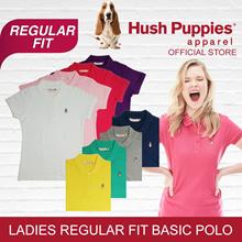 Hush Puppies Ladies Short Sleeve Polo Regular Fit | Many Designs