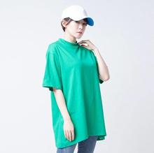 Merongshop-Premium Kaos Polos Muji Merongshop Women Green 28413-000C