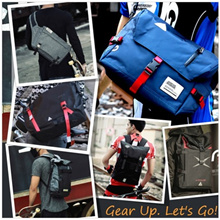★SALE★ Mens Sporty Messenger Shoulder Bag / Backpack / Sling / Office / Laptop Bag / Travel Sling