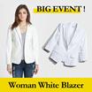 BIG EVENT !! WHITE JACKET|| Blazer trendy