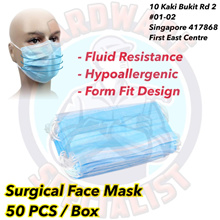 3 Ply Surgical Face Mask (50 Pieces / Box)