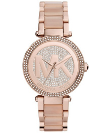 [CreationWatches] Michael Kors Parker Crystal Pave MK6176 Womens Watch