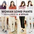 [COUP]SPECIAL PROMO! WOMAN LONG PANTS COLLECTION 4 STYLE/ CELANA WANITA /HIGH QUALITY/ASLI DARI KOREA