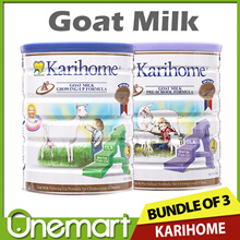 [KARIHOME] Bundle of 3 900g Goat Milk Powder ★ From New Zealand ★ for Kids 6m+ to 7yo+