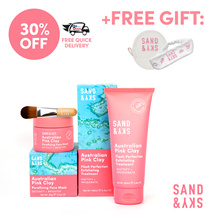 [Sand and Sky] Perfect Skin Bundle (Porefining Face Mask + Exfoliating Treatment)