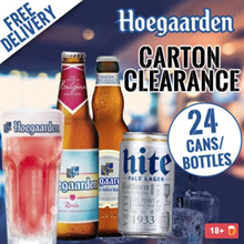 【Fresh Stock】Hoegaarden Rosee Hoegaarden White Korean Hite Korean Cass