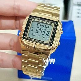 New Casio DB-360G-9A DB-360G-9D Gold Plated Digital Men Ladies Unisex Watch