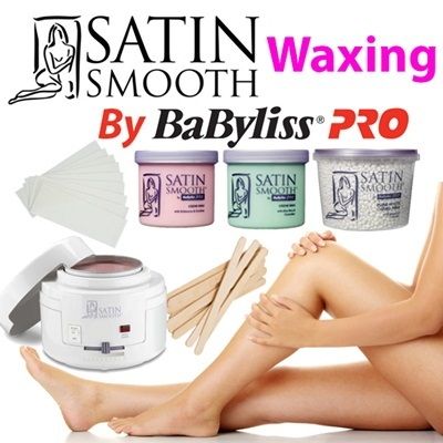 Satin Smooth By Babyliss Pro Hair Removal Waxing Kit / Bikini Wax / Warmer  / Heater / Hard Wax / Wax Applicators / Wax Strips / Wax Care Part 2