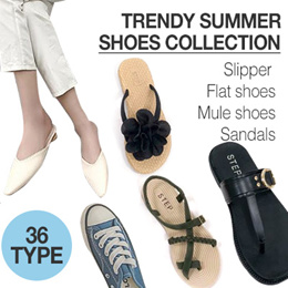 [kandj]★36ype 2019 summer shoes collection★ Sandals and Slippers /women /men/
