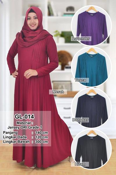 Qoo10 Koleksi Baju Muslim Gamis Polos Super Premium