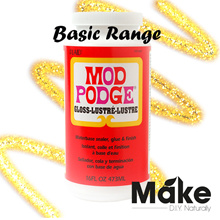 Mod Podge Basic Non-toxic Waterbase 3-in-1 Sealer Glue and Finish | Slime | Decoupage