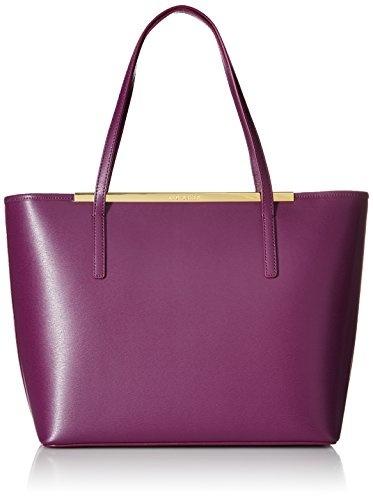 0c15e77d891dd Qoo10 - Ted Baker Noelle Crosshatch Shopper Tote Bag   Bag   Wallet