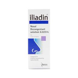[Iliadin] Nasal Decongestant drop 0.025% (1-6yr)/Nasal Decongestant drop 0.01% (Infant)