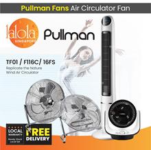 [▼-48% ]PULLMAN AIR CIRCULATOR FAN TURBO FORCE   Vintage Fan   Tower Fan   With Remote Control