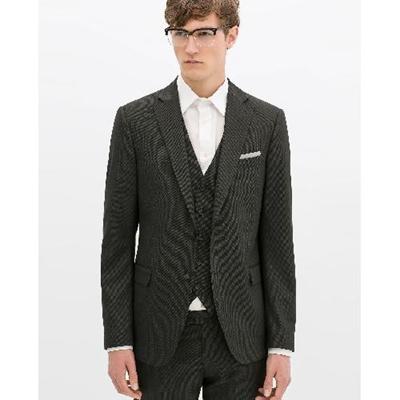 637a1840 Qoo10 - (Zara)/Men/Suits Sport Coats/DIRECT FROM USA/BIRDSEYE SUIT ...