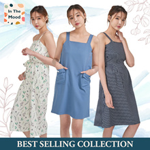 IN THE MOOD ★BEST SELLING COLLECTION ★ SUMMER DRESS JUMPSUIT TOPS ★ S-XL SIZE ★ CASUAL ★ WORK