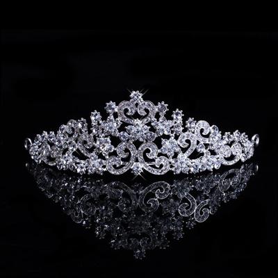 Lot Wedding Bridal Princess Crystal Prom Hair Tiara Crown Veil Headband w// Comb