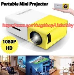 YG - 300 LCD LED Mini Projector Home Media Player 1080P 400 - 600 Lumens 320 x 240 HDMI / USB / AV /